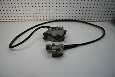 Yamaha 2003 03 YZ250F YZF250 YZ 250F FRONT BRAKES CALIPER AND MASTER CYLINDER