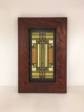 Motawi Skylight Art Tile Family Woodworks Oak Park Arts & Crafts Frame