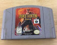Duke Nukem: Zero Hour (Nintendo 64, 1999) - N64 Game Tested Fast Shipping