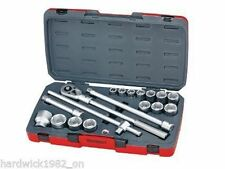 TENG TOOLS SALE!  18 PIECE 3/4 DRIVE SOCKET RATCHET EXTENSION TOOL SET IN CASE