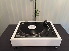 TECHNICS 1200 / 1210 Piano White Plinth Zarge(WITHOUT TURNTABLE!!)
