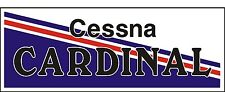 A029 Cessna Cardinal Airplane banner hangar garage decor Aircraft signs