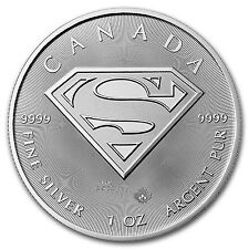 2016 Canada 1 oz Silver $5 SUPERMAN™ BU - SKU #98282