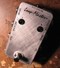 Loop Master Pedals Clean/Dirty FX True Bypass Looper IN STOCK Switcher Loop