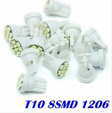 100X8 SMD T10 1210 smd 4 Led Lights Car Bulbs 194 168 501 W5W Wedge Tail Blubs
