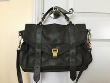 Auth. Proenza Schouler PS1 Medium Military Green Bag/Satchel-VGC!! $1,780
