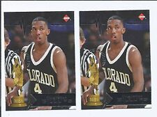 1997 COLECTOR'S EDGE  ROOKIE CHAUNCEY BILLUPS  RC  (lot of 2)