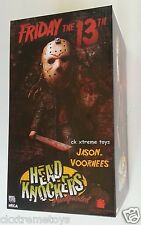 NECA Jason Voorhees Friday The 13th 2009 Bobble Head Knockers Action Figure Mask