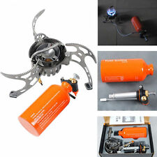 Portable Oil/Gas Multi-Use Stove Cooking Camping Outdoor Stove Lightweight BRS-8
