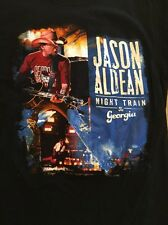 Jason Aldean 2014 tour shirt night train Adult Size Small