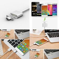 New Metal Micro USB Charge Magnetic Adapter Charger Cable Charging For Android
