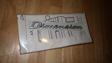 NEW Genuine Citroen AX ZX Dimension Ltd Edition decal badge CIT7382