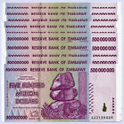 Zimbabwe 500 Million Dollars x 10 notes AA 2008 P82 UNC currency bills inflation