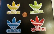 "4 - ADIDAS PATCH LOT  Logo PATCH embroidered iron on Patches patch 2.1"" x 2.1"