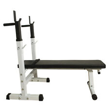 Adjustable Folding Weight Lifting Flat Incline Bench Fitness Workout New