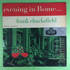 Frank Chacksfield & His Orchestra - Evening In Rome - Decca LK-4095 Ex Condition