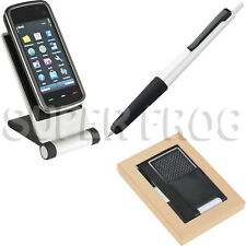 Mobile Phone Holder Stand Foldable For Tablet Smartphone iPhone Mount Touch Pen