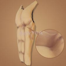 Excelente Halloween Falsa Músculos Pectorales Piel Goma Disfraces para Hombre