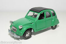 POLISTIL S219 S 219 S-219 CITROEN 2CV 2 CV GREEN NEAR MINT CONDITION