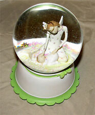 Musical Snow Globe Guardian Angel Demdaco Claire Stoner From Above 2005