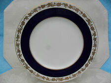WEDGWOOD -- WHITEHALL -MAZARINE - BREAD & BUTTER PLATE - BLUE BAND - ENGLAND