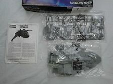 STAR TREK VOYAGER: MAQUIS SHIP MODEL AMT 1995 OPENED UNMADE NEW (Box Damage)