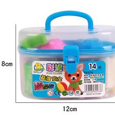 Baby Toy Barrel Plasticine Set Colorful Clay Intelligent Education Game Children