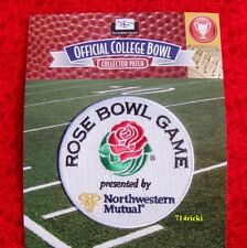 Official 2016 Rose Bowl Game Patch Stanford Cardinal vs Iowa Hawkeyes