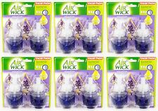 12 REFILLS Air Wick LAVENDER & CHAMOMILE Soothing Scented Oil Plug In Refill