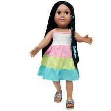 """Doll Clothes AG 18"""" Dress Tri-Colored by Springfield Made For American Girl Doll"""