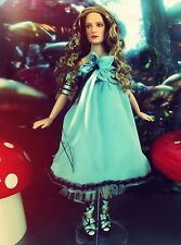 DISNEY Tonner DOLL ALICE IN WONDERLAND Ooak LOOKING GLASS TEA PARTY CRASHER