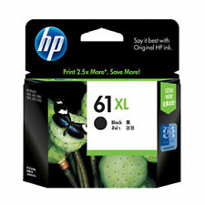03/2018 in RETAIL BOX HP 61XL Black Genuine Ink For 3052A 3051A 3050 3000 2544