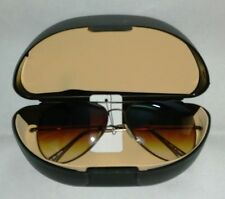 AVIATOR SUNGLASSES /SUN SHADES POLY CARBONATE GLASSES & GOOD QUALITY COVER