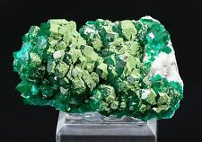 Dioptase with Duftite Fine Mineral Specimen from Tsumeb, Namibia