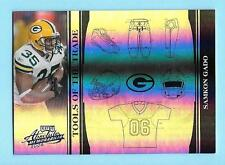 2006 Absolute Memorabilia Samkon Gado Tools of the Trade Packers 3/5