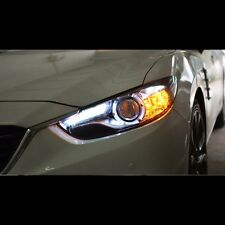 LED Projector Angel Eye DRL Xenon HID Headlights For Mazda 6 Atenza M6 2014~2016