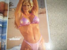 MUSCLEMAG bodybuilding muscle SWIMSUIT magazine/TORRIE WILSON 1-01 #223