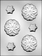 Snowflake Assortment Christmas Chocolate Candy Mold from CK #4625 - NEW