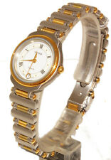 VETTA OROLOGIO DONNA ACCIAIO DATA IMPERMEABILE WATCH WOMAN STAINLESS STEEL NUOVO