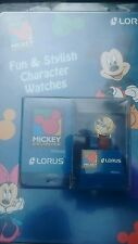RARE NIB VINTAGE LORUS MICKEY WOMENS  WATCH NICE COLLECTORS PIECE