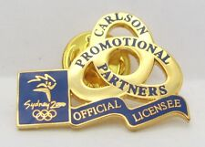 CARLSON PROMOTIONAL PARTNERS SYDNEY OLYMPIC GAMES 2000 PIN BADGE COLLECT #217