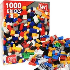 MY 1000 Assorted Toy Bricks Building Construction Block BRAND COMPATIBLE Playset