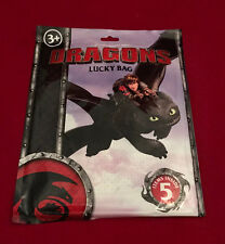 DREAMWORKS HOW TO TRAIN YOUR DRAGON LUCKY Borsa Festa di Compleanno Giocattolo Regalo Riempitivo