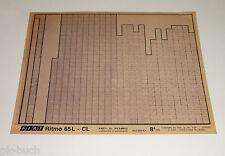 Microfich Catalogo parti di ricambio FIAT RITMO 65 L-CL 60330543