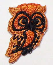 Iron On Patch Applique - small Brown Owl