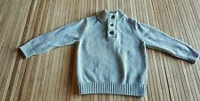 baby Gap Boy Toddler Gray Sweater Pullover Size 3t