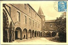 CP 87 HAUTE-VIENNE - Rochechouart - Le Château - Les Arcades