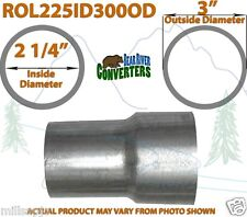 "2 1/4"" ID to 3"" OD Universal Exhaust Pipe to Component Adapter Reducer"