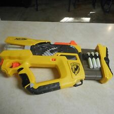 NERF N-Strike Firefly REV-8 Gun With Bullets Hasbro 2005 Works!