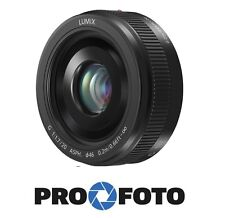 NEW Panasonic LUMIX G 20mm f/1.7 II Black ASPH.